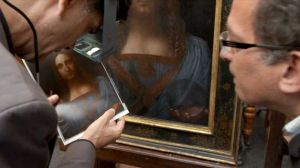 Authenticating Da Vinci painting of Christ