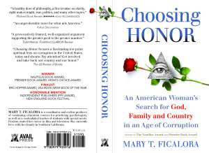 Choosing Honor front and back cover perfect 1