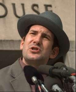 Matt Drudge outside courthouse